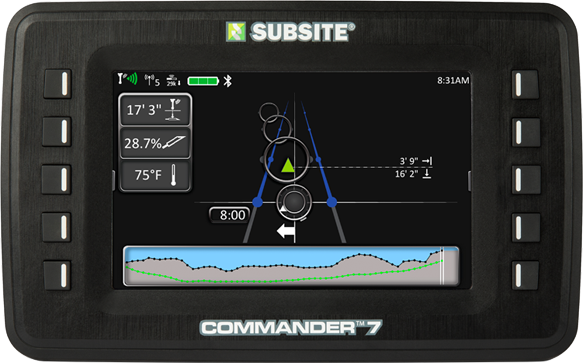 Subsite Commander 7 software