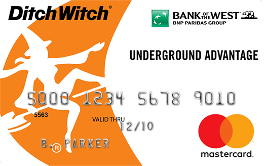 Ditch Witch Credit Card